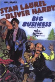laurel & hardy big business