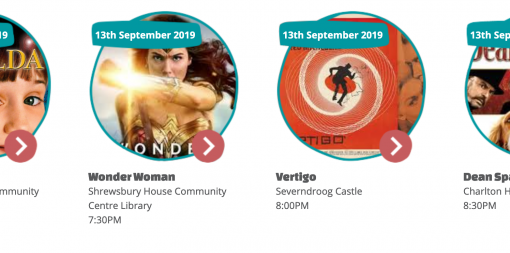 Composite thumbnail image of Matilda, Wonder Woman, Vertigo and Dean Spanley
